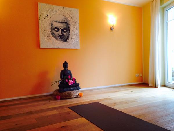 Raum für Yoga